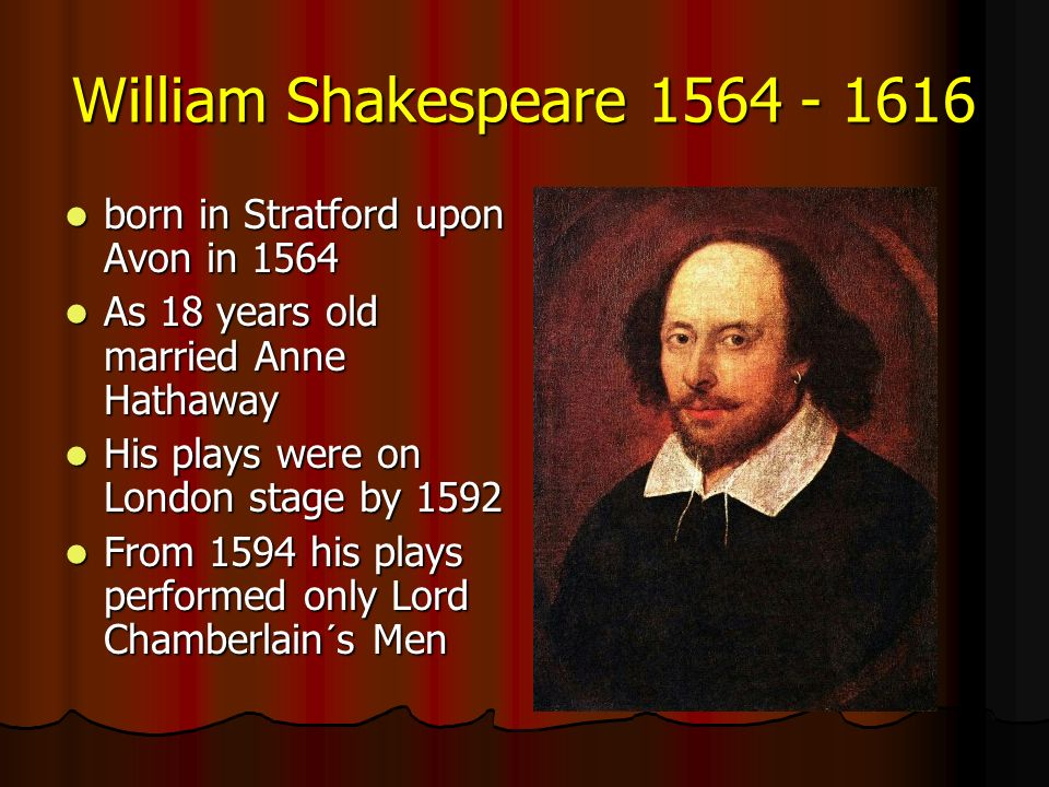Biography of william shakespeare 1564 1616