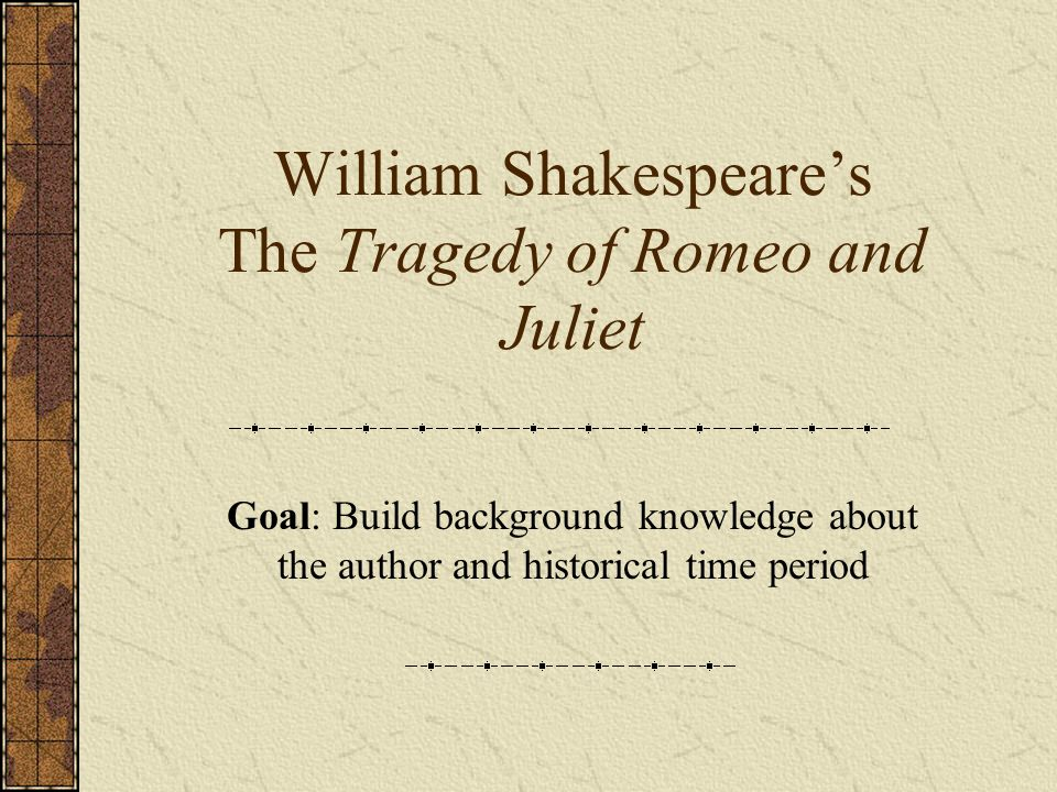 the tragedy in william shakespeare romeo and juliet Quizlet provides juliet shakespeare tragedy romeo activities, flashcards and games start learning today for free.