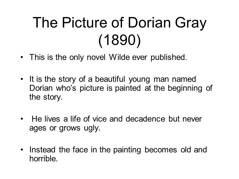 the theme of decadence in the picture of dorian grey by oscar wilde essay Read this essay on oscar wilde picture of dorian grey  france and england saw the rise of the decadence  oscar wilde's the picture of dorian gray is.