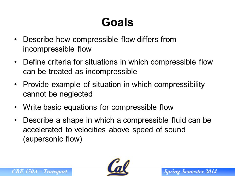 compressibility definition. goals describe how compressible flow differs from incompressible compressibility definition n