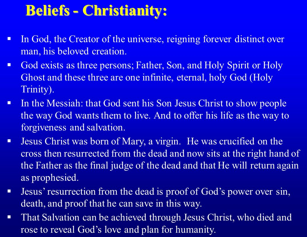 the genesis and teachings of christianity God created all things: genesis 1, hebrews 11:3 3 the devil is the enemy of god what are the main teachings of christianity on the nature of the world.