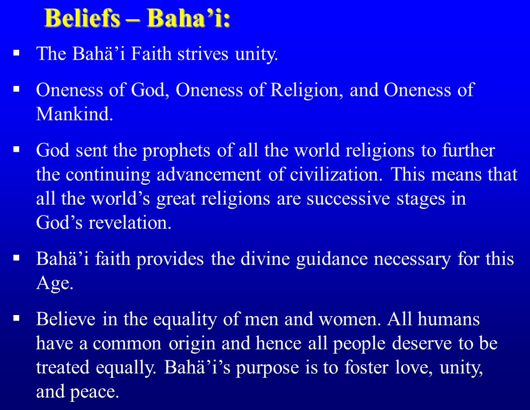 the religion of bahai essay