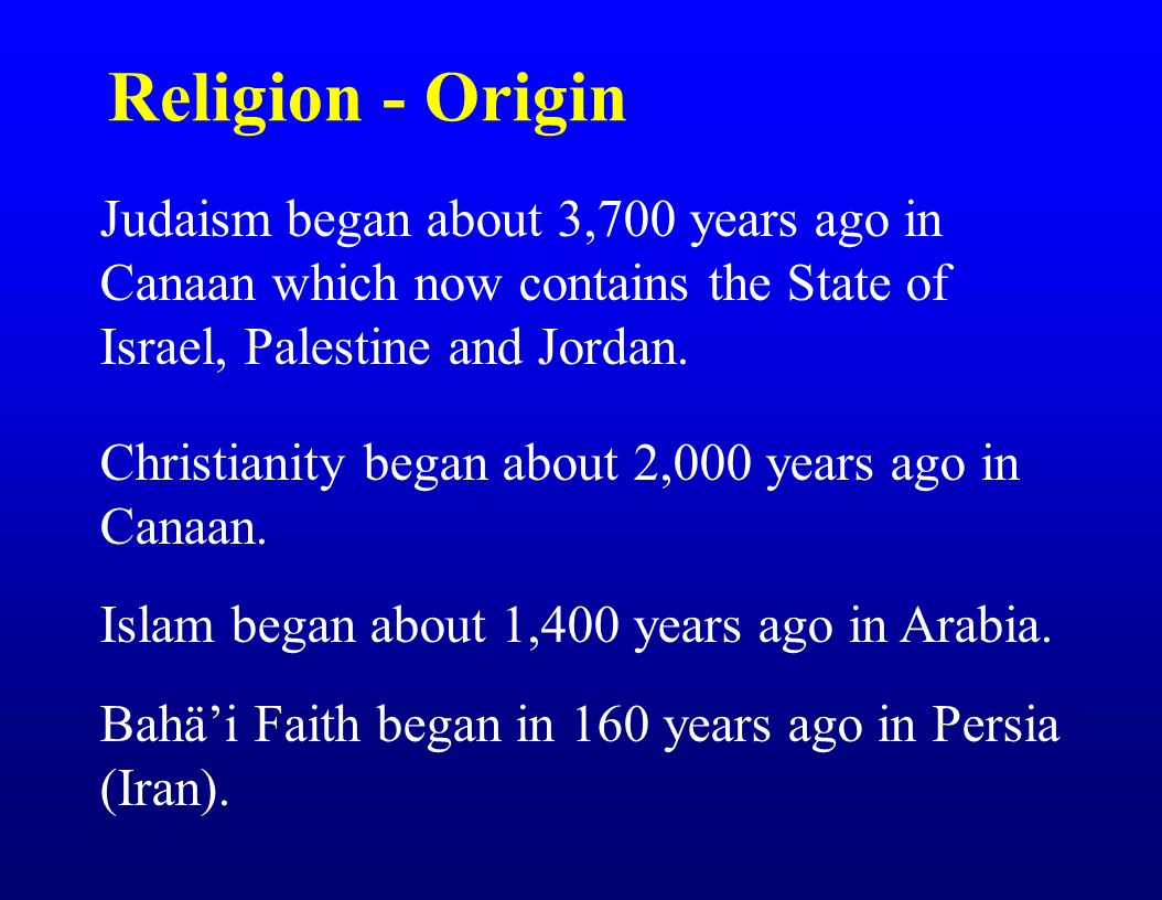 origins of judaism It follows that judaism is more than a faith or a belief system  in this sense jews  see themselves as a family, tracing their origins to the biblical patriarchs.