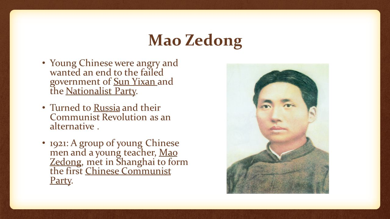 mao zedong effect on china essay Mao zedong was a chinese communist revolutionary and the founding father of the people's republic of china the chinese depression enabled mao zedong, along with the communist party to gain power, helping china to rebuild after wwii.