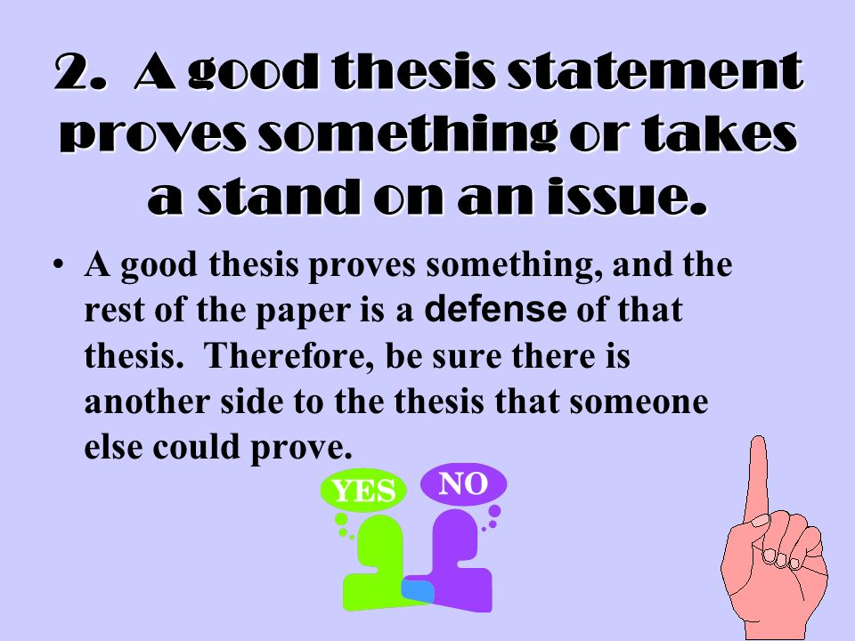 4 characteristics of an effective thesis statement Characteristics of an effective thesis thesis statements typically fall into one of three categories the bedford handbook for writers 4 th ed boston.