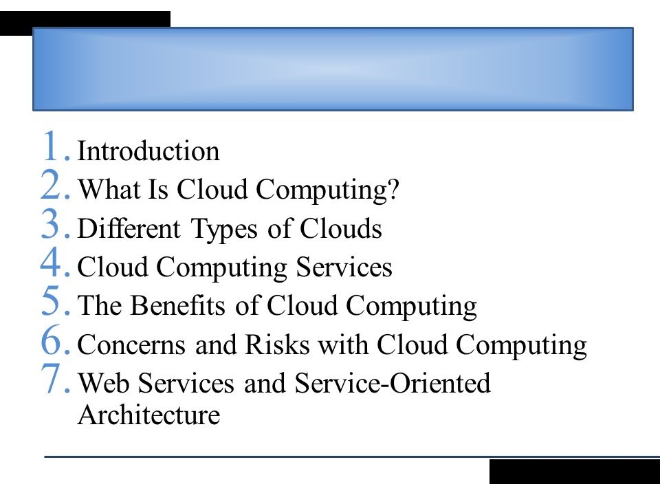 3 cloud computing