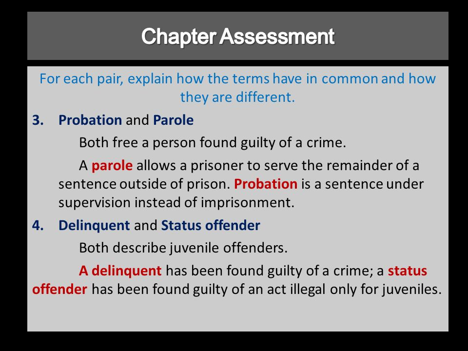 act 35 adult probation offender supervision