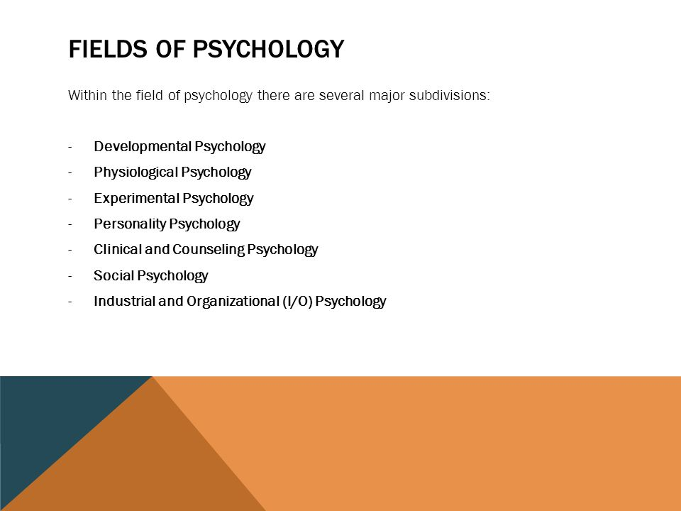 MA in Applied Psychology – Industrial / Org. Psychology