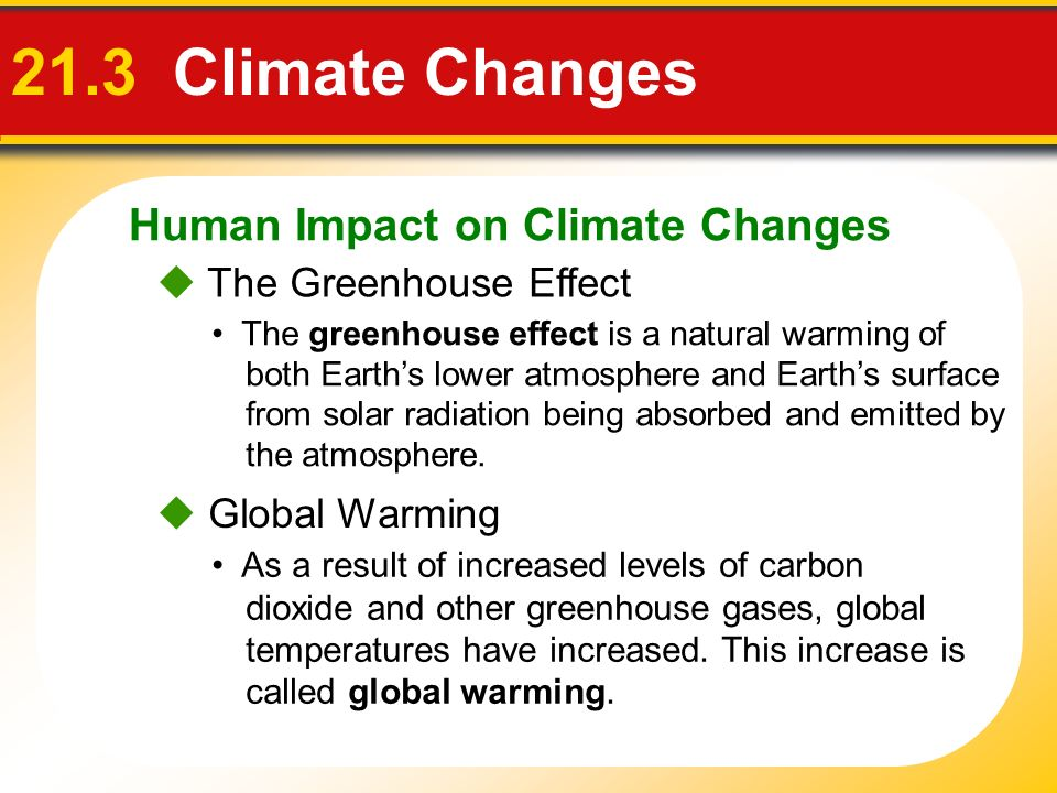 the impact of climate change on humans and other species What differentiates us from other species is our ability to greatly  as well as humans and even buildings, statues or other  can withstand a human impact on the.