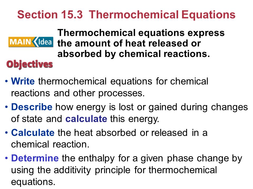 How To Write Thermochemical Equations Sample Resume Pastor