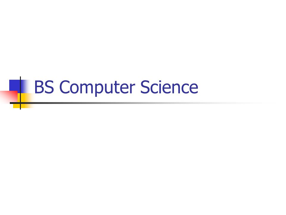 thesis for bs computer science The school of computing's bs/ms program makes it possible for students to get  both  do a bs thesis, which you then expand to an ms thesis as a graduate  student  junior status in computer science at the university of utah minimum  30.