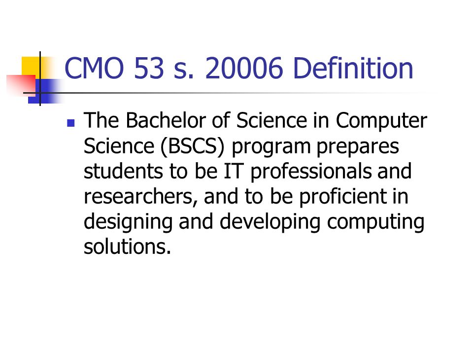 Framework for cs it is undergraduate thesis project for Bachelor definition