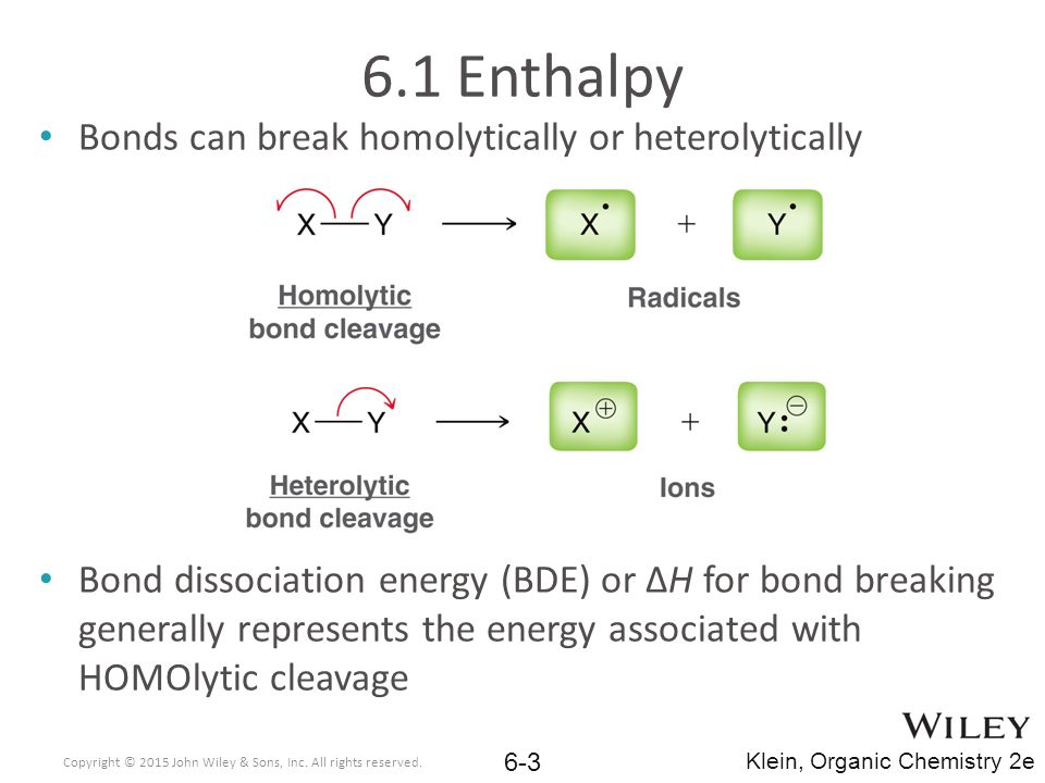 Chemical Reactivity And Mechanisms Ppt Download