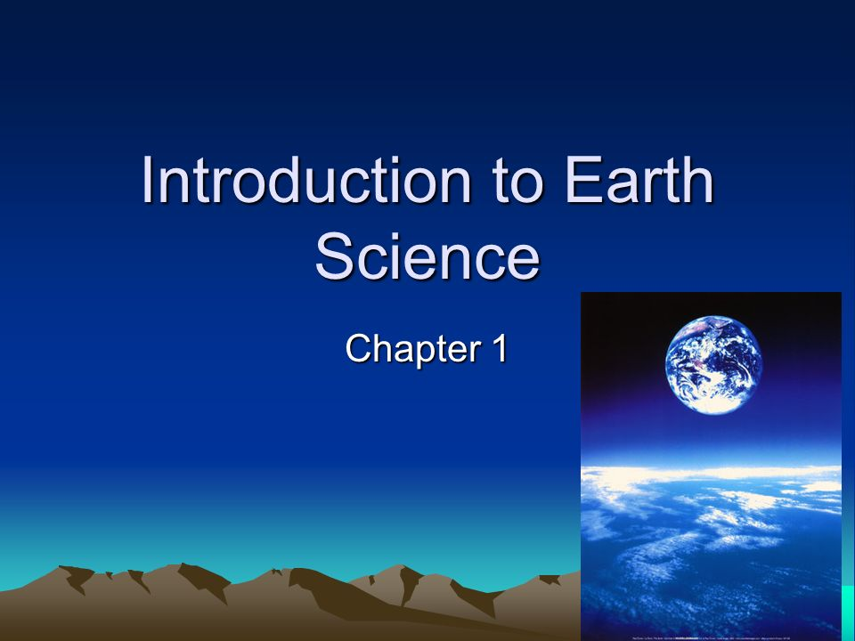 Introduction to Earth Science - ppt download