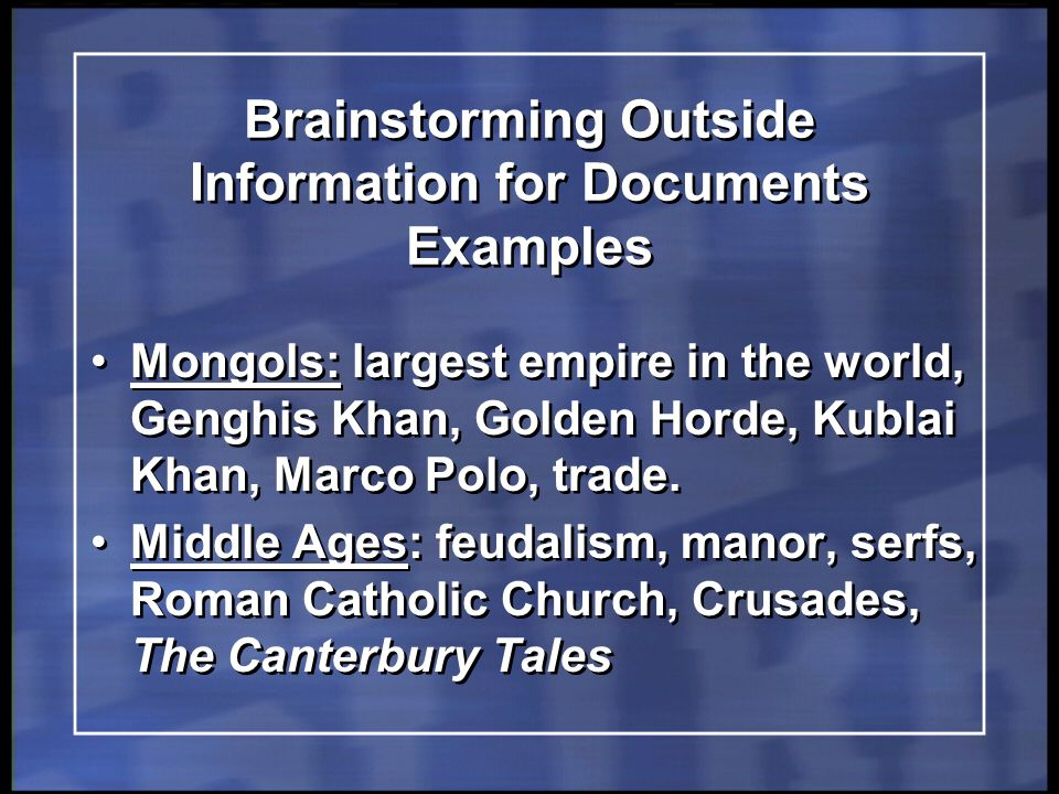 regents review live global history geography ppt 10 brainstorming