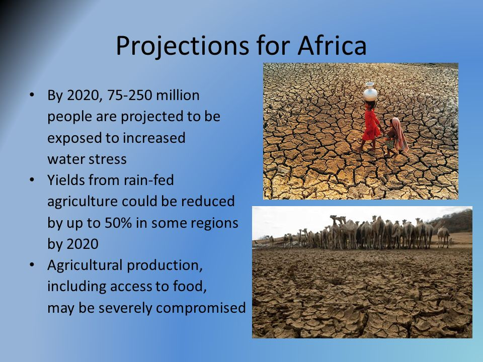 Projections for Africa