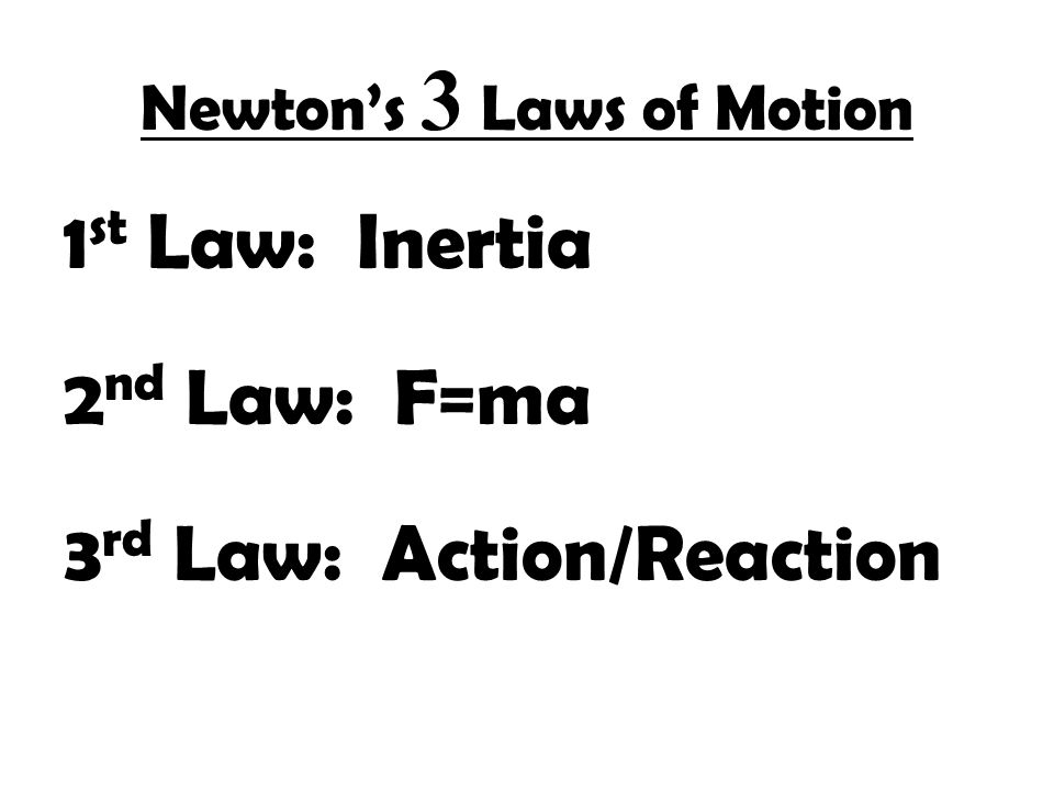 Unit 01 Forces And The Laws Of Motion Introduction To