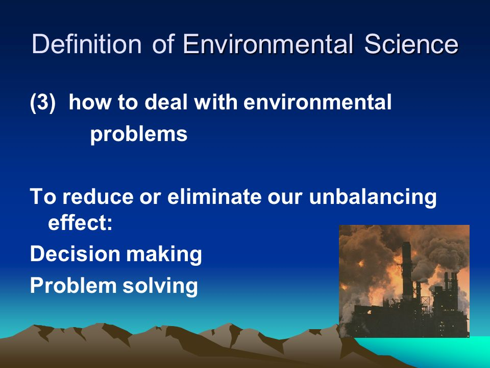 Introduction to Environmental Science - ppt video online ...
