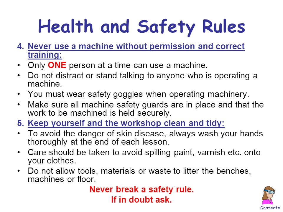 health and safety regulations for elderly care Continue reading senior safety information to keep elderly  a course that is required for most nurses and health care providers working in the senior health care.