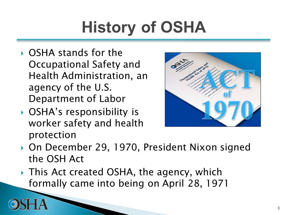Occupational safety and health act osha essay