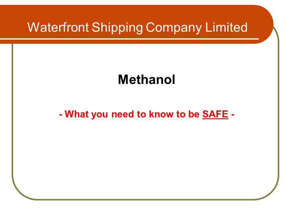 Waterfront Shipping Company Limited