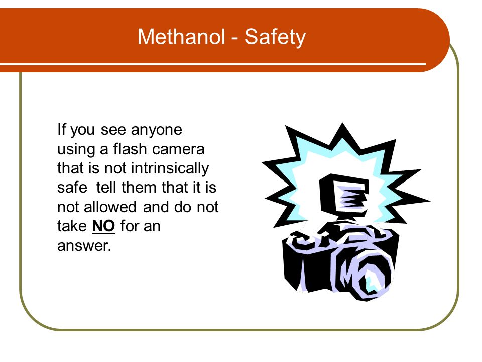 Methanol - Safety