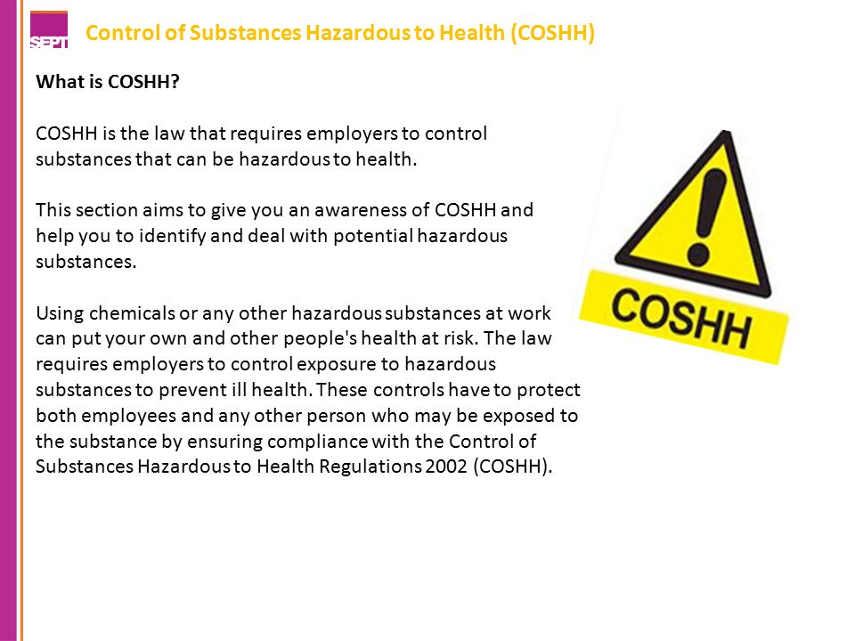 control of substances hazardous to health regulations 2002 pdf