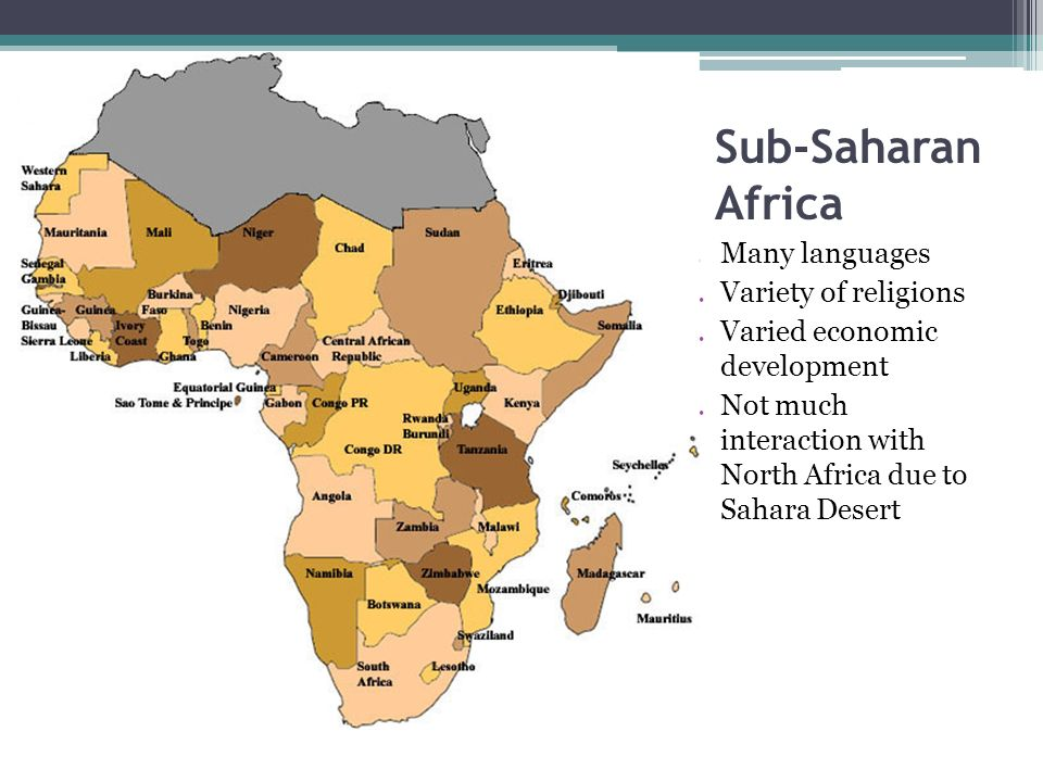 continuities and changes of religious beliefs and practices in sub saharan africa Religious ideas and practices shape development ideals and practices   potential of the african people and these beliefs had to be removed through   for anderson,32 development is essentially about change and continuity   phenomenon spread all over sub-saharan africa and therefore requires.