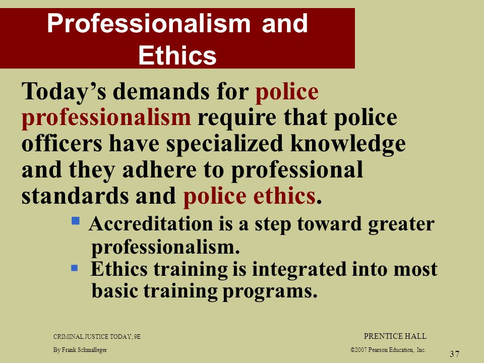 professionalism standards and ethics Professional ethics encompass the personal, and corporate standards of behavior expected by professionals the word professionalism originally applied to vows of a religious order.