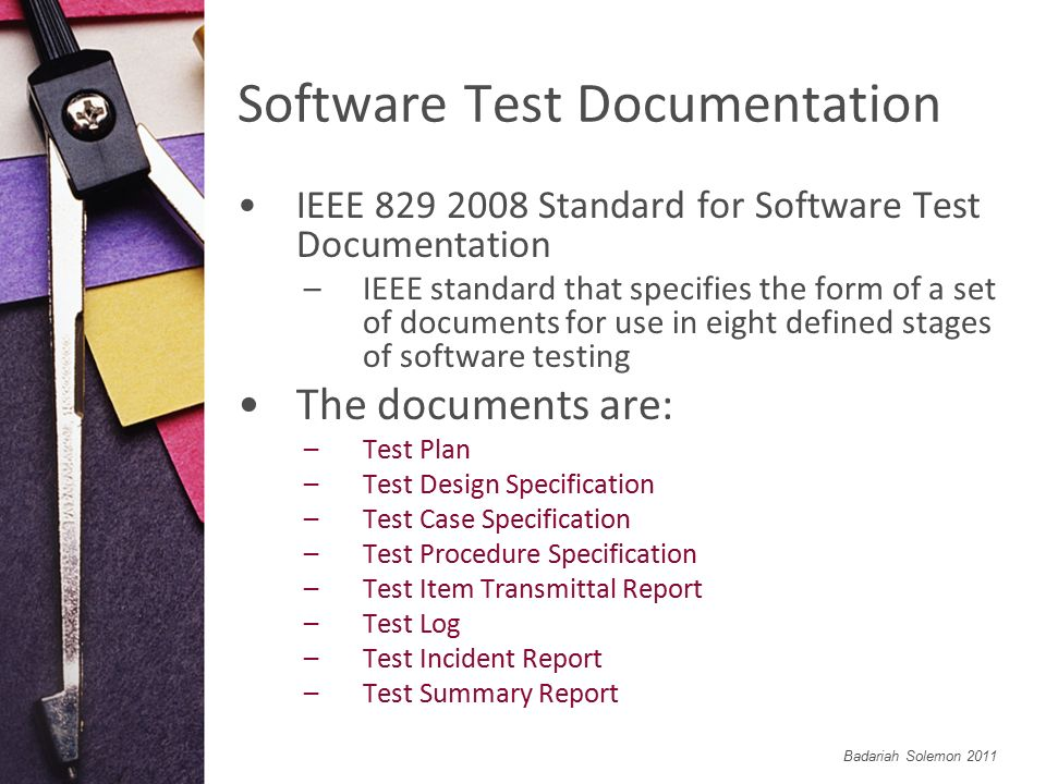 What Is Incident Report In Software Testing. Hearing→Test