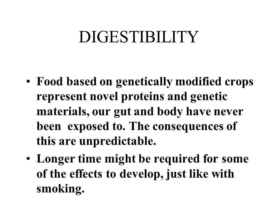 DIGESTIBILITY