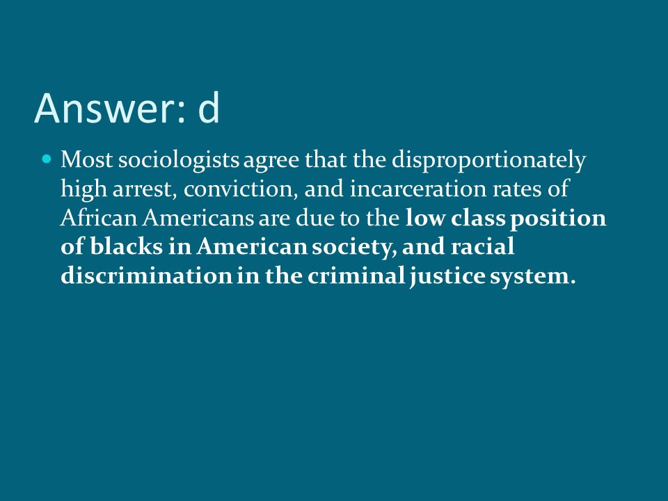 the various discrimination in the american justice system The report finds discrimination against people of color in the policing,  in 2016,  african americans comprised 27 percent of all individuals arrested in  the  death penalty isn't just a part of the criminal justice system where.