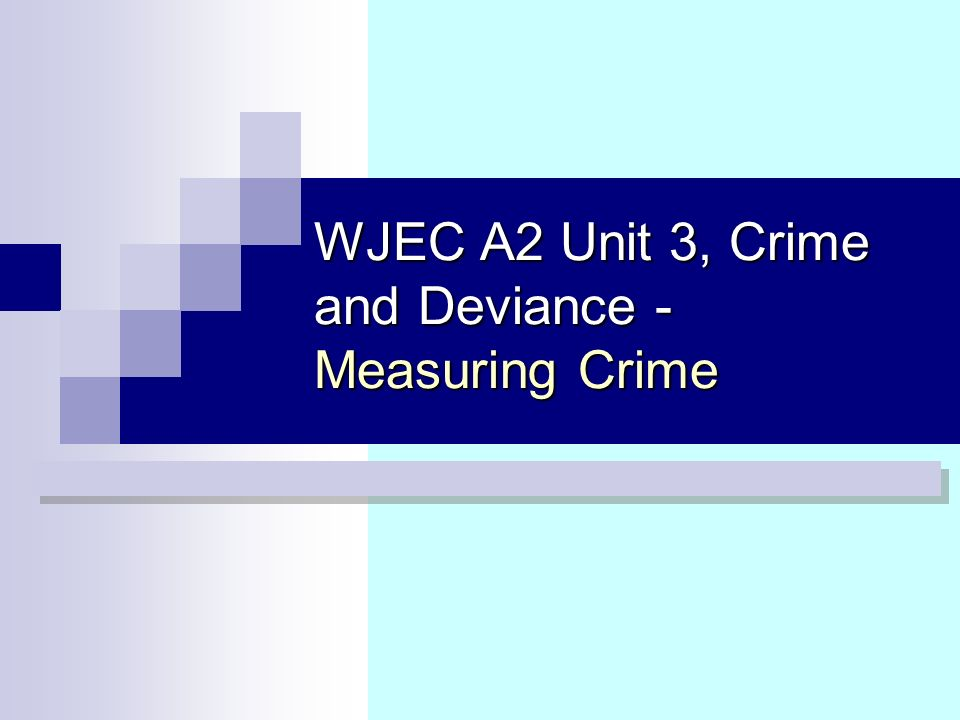 measuring crime deviance Start studying sociology chapter 61 deviance and social control (true/false questions  and accuracy for measuring crime in  deviance is inevitable, the.