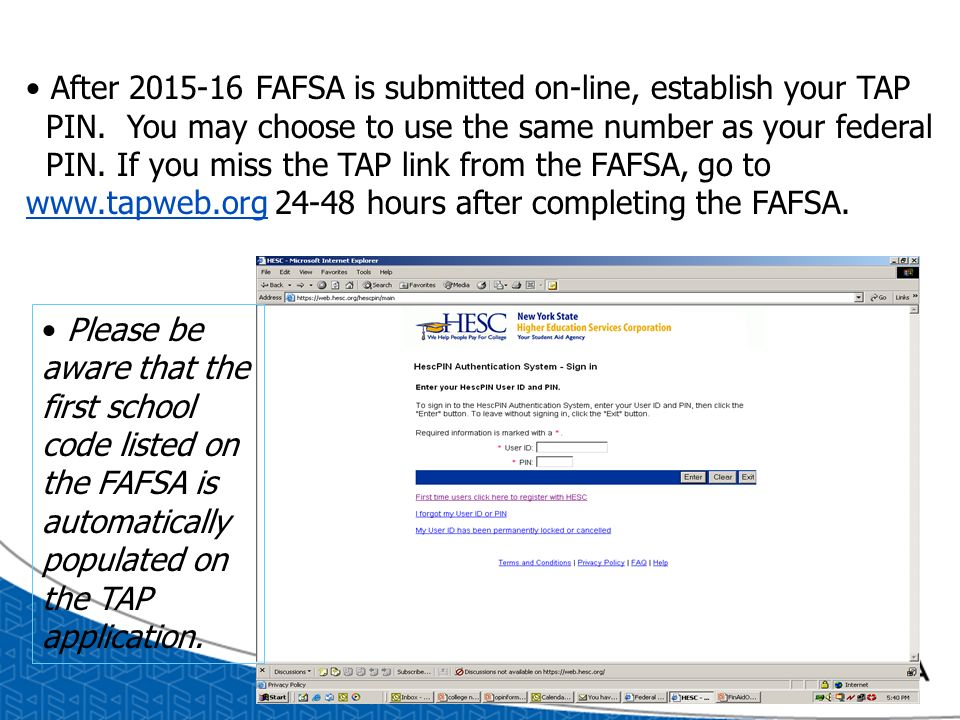 Financial Aid Application Process - ppt download