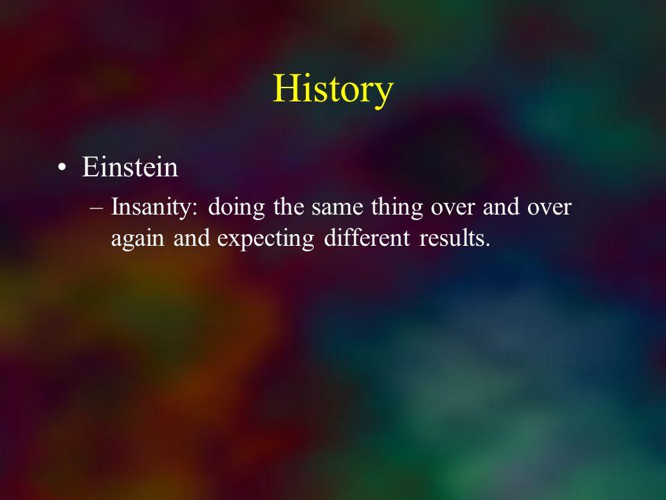 History Einstein.