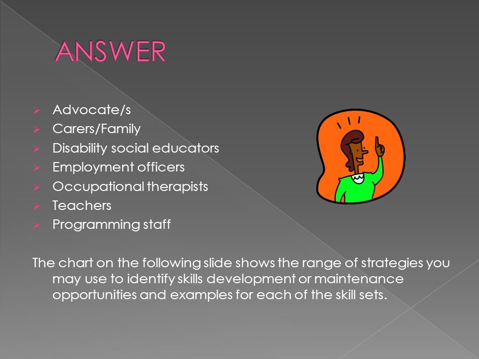 facilitate skill development and maintanence Skill development - work activities skip skills development remains a significant area of work within the overall brief of the national federation of.