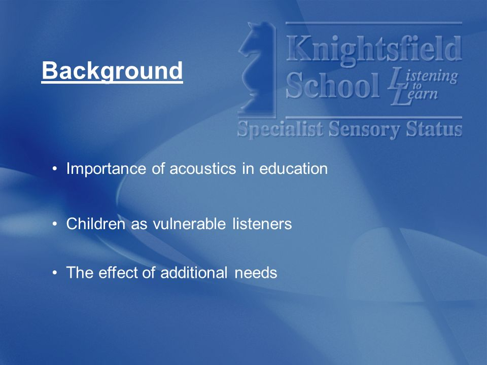 Matthew Bysouth Educational Audiologist Ppt Video Online Download