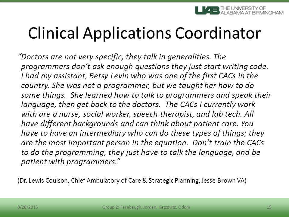 clinical application question Learn how to craft compelling answers so you're prepared for this stage of the  application process.