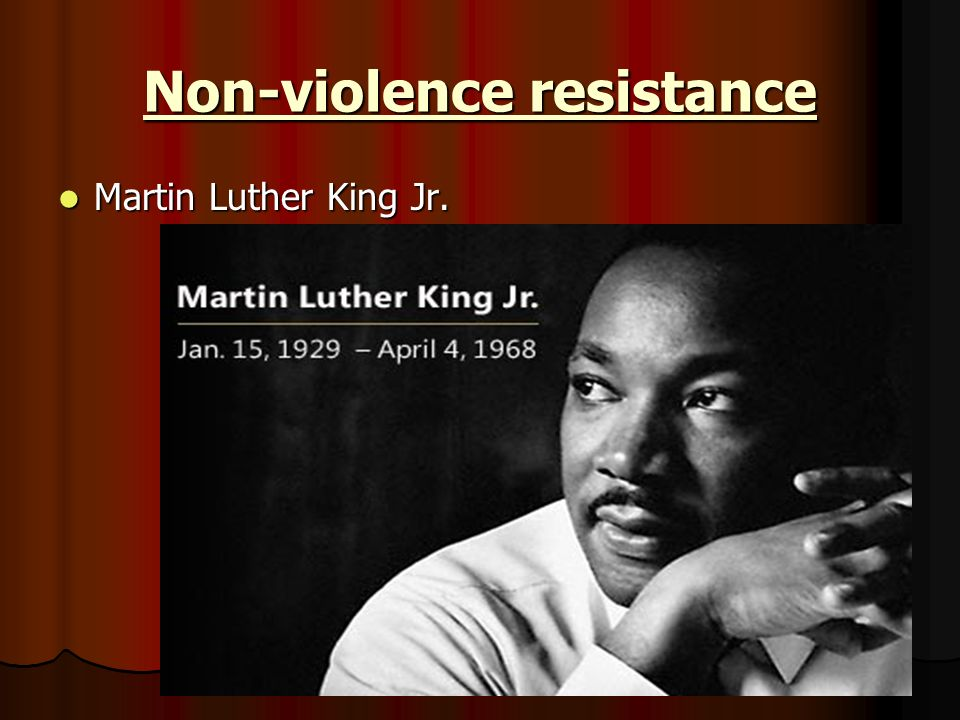 martin luther king jr an advocate of non violent social change At the martin luther king jr center for nonviolent social change, we are concerned that humanity is widening the chasms that divide us, instead of building bridges that can move us ahead.