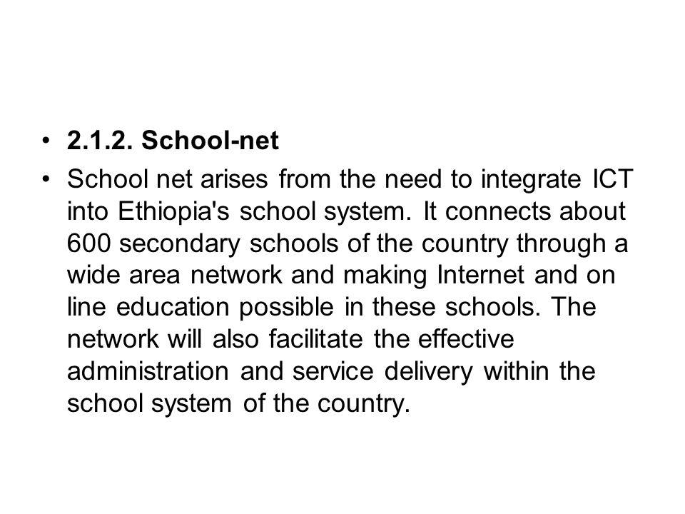 2.1.2. School-net