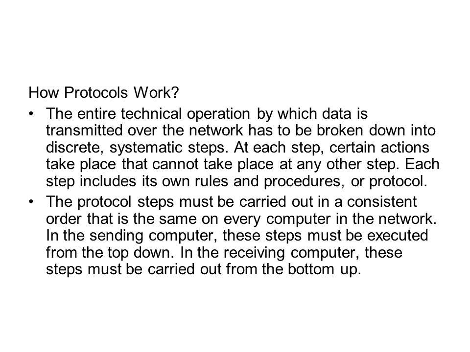How Protocols Work