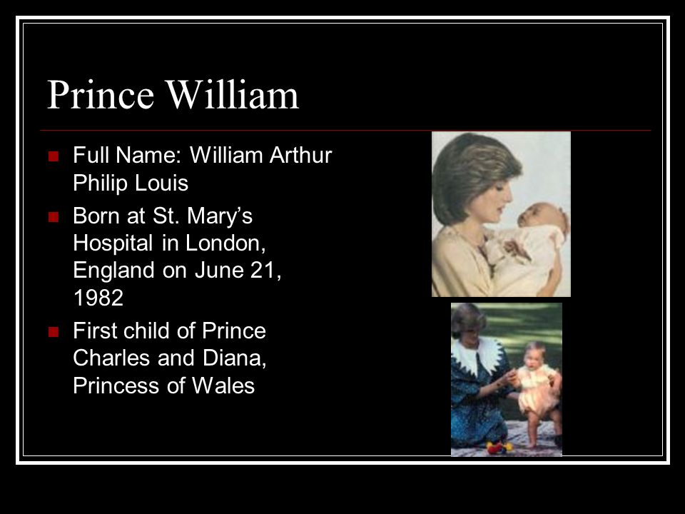Princess Diana Prince William Ppt Video Online Download