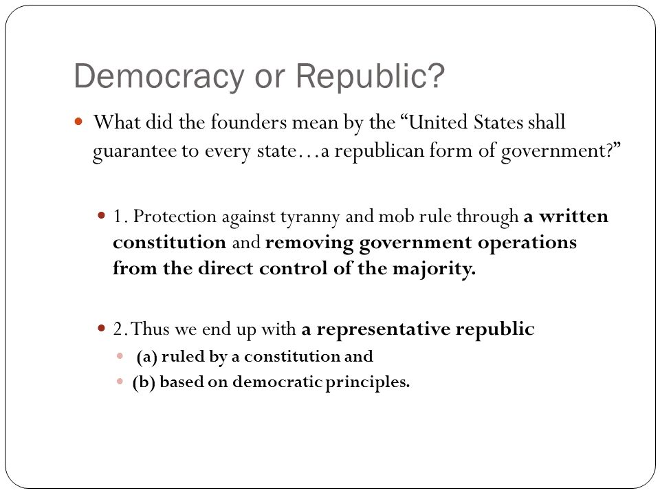 The Meaning of Democracy - ppt video online download