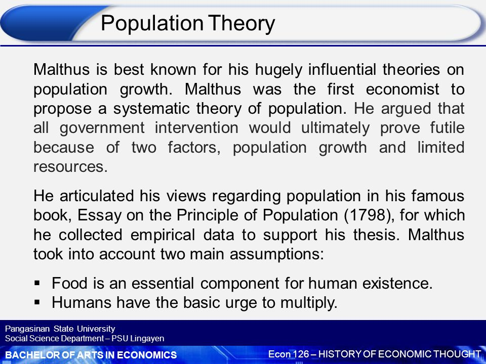 systems theory and human population growth Bertalanffy's general systems theory: by gregory mitchell systems theory studies the structure and properties of systems in terms of relationships, from which new.