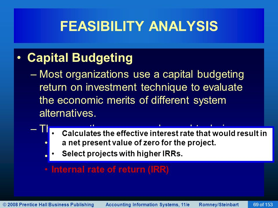 Techniques in Capital Budgeting Decisions