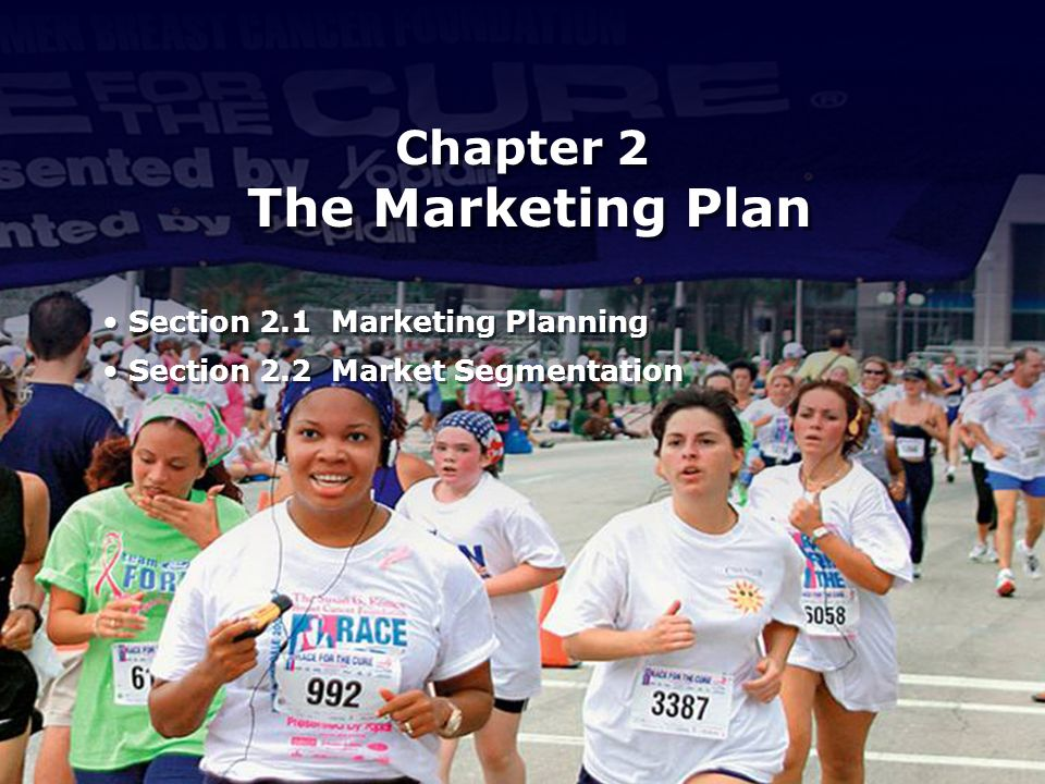 Chapter 2 The Marketing Plan