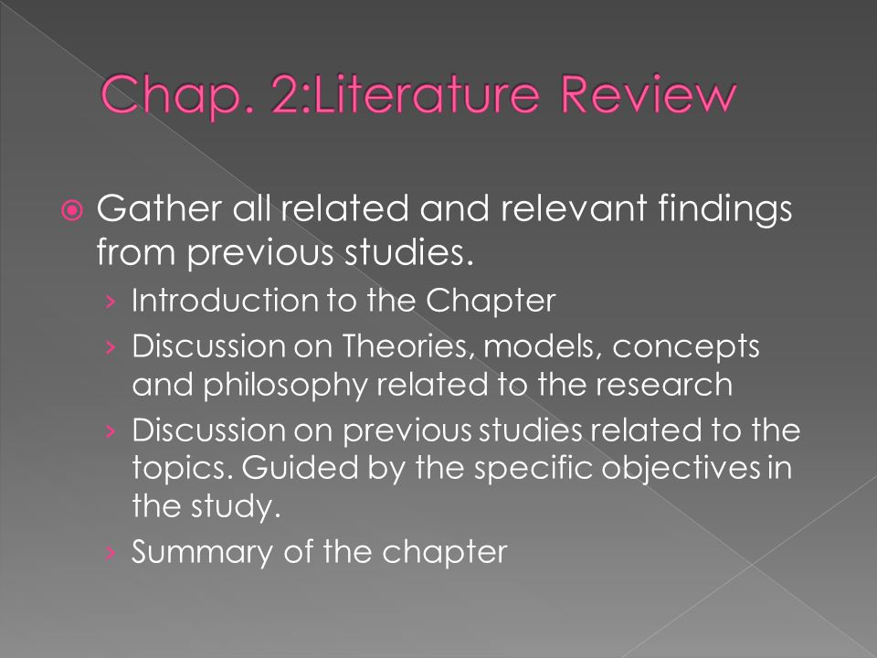 Thesis Structure Chapter    Introduction Chapter    Conclusions and The National Academies Press