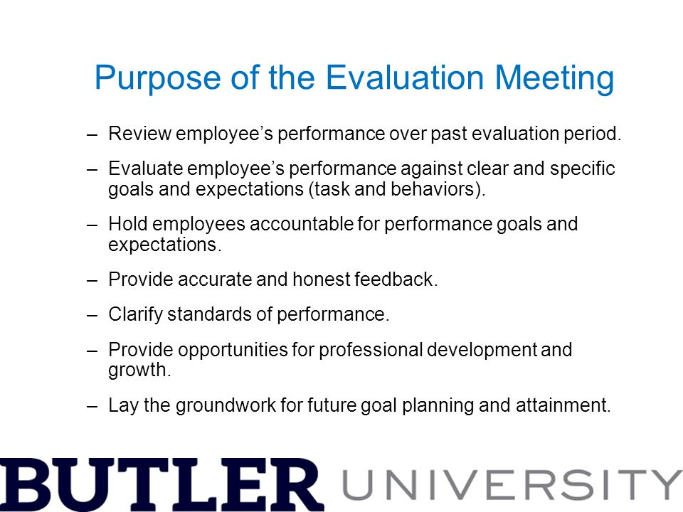 A Guide To Conducting Effective Performance Evaluations - Ppt Download