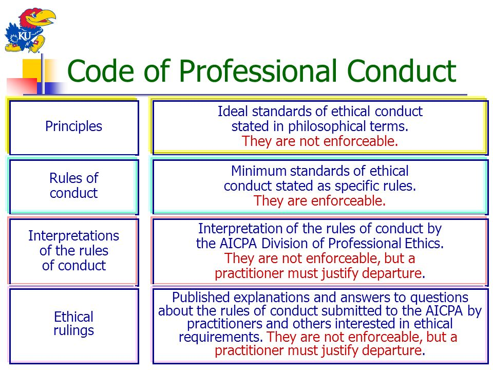 rules of professional conduct pdf