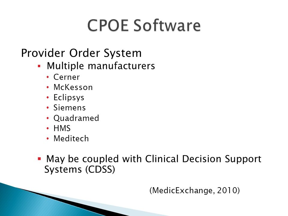 types of clinical decision support system computer science essay The impact of health information  care delivery such as clinical decision support system  computer, system, hit, electronic, clinical or.